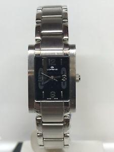 【送料無料】orologio lorenz swiss made lady 28x19 mm 220 nero scontatissimo nuovo