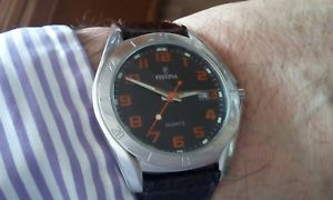 【送料無料】festina mens multifunction watch serviced battery immaculate working condit