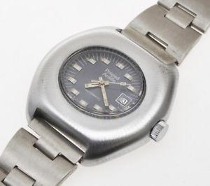 【送料無料】phigied antille lady automatic watch, steel case, original vintage 1970