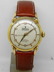 【送料無料】montre bracelet herma mouvement fef 350 vers 1960 vintage