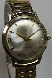 【送料無料】vintage elgin 17 selfwinding automatic waterproof wristwatch 1960s