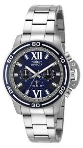 【送料無料】invicta specialty 15057 mens navy blue roman numeral chronograph watch