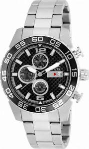 【送料無料】invicta specialty 21375 mens round carbon chronograph date analog watch