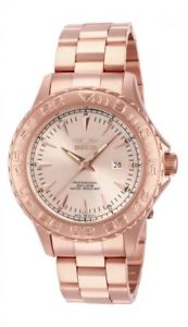 【送料無料】15470 invicta 47mm mens pro diver rosetone stainless steel watch