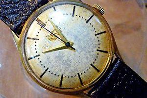 【送料無料】mens 34mm junghans trilastic cal 84 g6 20mic gp german watch