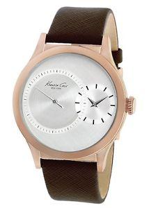 【送料無料】 kenneth cole york mens kc1894 rose gold case subsecond quartz watch