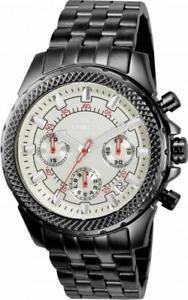 【送料無料】invicta signature 7169 mens round silver tone chronograph date analog watch