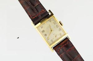 【送料無料】vintage mens elgin wristwatch 21 jewels