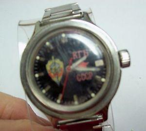 【送料無料】vintage russian kgb cccp watch