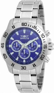 【送料無料】invicta specialty 21482 mens round dark blue analog day date 12 amp; 24 hr watch