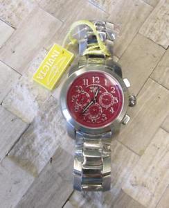 【送料無料】 with tag invicta chronograph stainless mens wristwatch 3346 w box ss8002