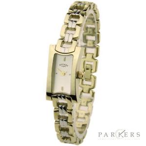 【送料無料】rotary ladies stainless steel quartz wristwatch model lb0227603 exdisplay