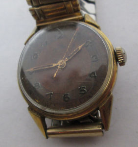 【送料無料】antique wakkman wristwatch for parts or restoration