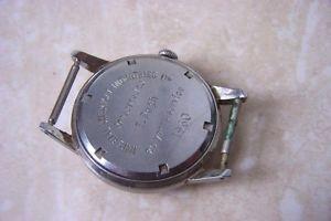 a garrards manual wind wristwatch c1960 needs a service