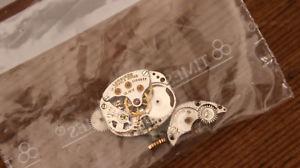 【送料無料】pices de mouvement montre mcanique ancienne longines 1315v  f221