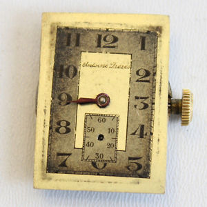 【送料無料】mouvement montre mcanique ancien 19,4 mm cadran antoines frres f3623