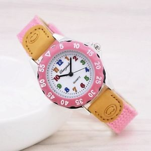 student wristwatch high quality kids quartz kids childrens fabric strap watch