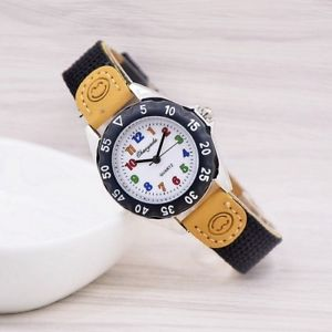 student wristwatch high quality kids quartz kids childrens fabric strap watch