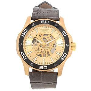 【送料無料】invicta specialty 17262 leather watch