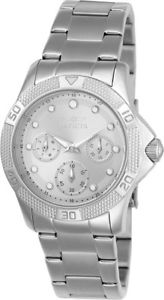invicta womens angel chronograph quartz 100m stainless steel watch 21764