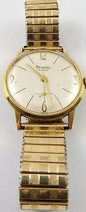 【送料無料】vintage gents manual wind 15 jewel regency wristwatch in good working order