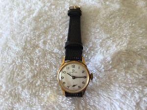 【送料無料】ladies gold plated certina watch
