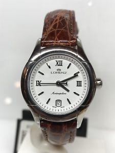 【送料無料】orologio lorenz swissmade montenapoleone 250 28mm zaffiro scontatissimo nuovo