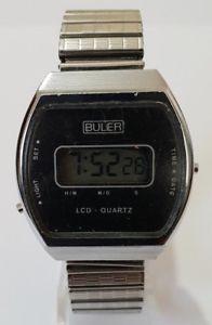 【送料無料】buler expandable bracelet digital watch 305323847