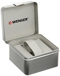 wenger women edge index quartz 100m gold tone stainless steel watch 011121107