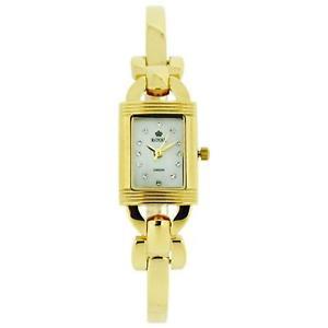 【送料無料】royal london ladies mop gold plate stainless steel bracelet strap watch 2116202