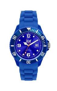 ice watch sili blue big sibebs09 analog  silikon dunkelblau