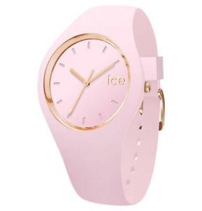 【送料無料】ice watch ice glam pink lady small 001065 analog silikon pink