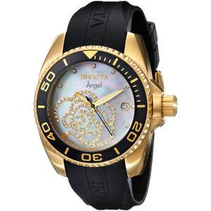 invicta  angel 0489  silicone  watch