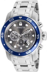 【送料無料】invicta mens pro diver quartz chronograph stainless steel