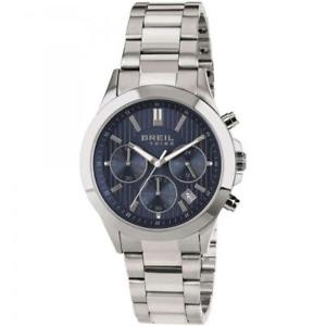 【送料無料】orologio uomo breil tribe choice ew0296 chrono blu bracciale acciaio 50mt