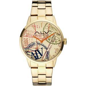 【送料無料】orologio alv alviero martini alv0006 bracciale acciaio gold dorato