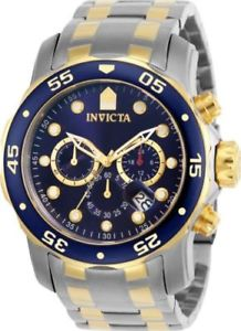 【送料無料】0077 invicta mens scuba pro diver ii collection chronograph watch