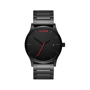 【送料無料】orologio mvmt classic l2135b551 al quarzo analogico solo tempo acciaio nero