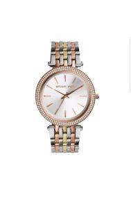 【送料無料】 michael kors mk3203 ladies rose gold watch,