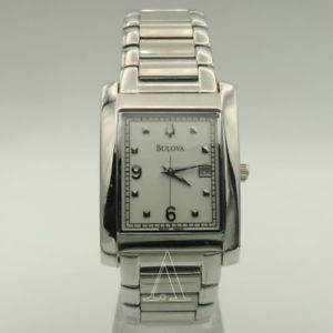【送料無料】bulova mens quartz watch 96b75po
