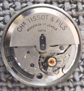 tissot automatic movement cal285r voll funktioniert  17jewels   b119