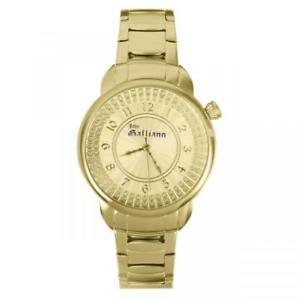 【送料無料】orologio donna john galliano stellar r2553126502 acciaio gold swarovski