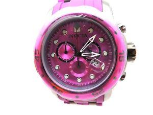 【送料無料】mens invicta swiss made chronograph tritinite pro diver wristwatch model 18198