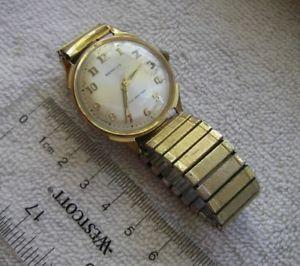【送料無料】vintage mens benrus series 3041 watchgold filled17j manual windruns wellnr
