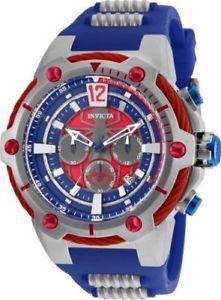 【送料無料】25989 invicta 53mm mens marvel spiderman chronograph quartz watch
