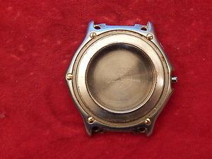 【送料無料】neues angebot100 ebel 1911 discovery 40mm mens solid steel diver case only