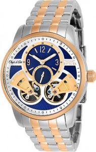 【送料無料】invicta mens objet d art automatic chrono two tone stainless steel watch 25578