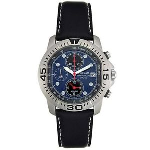 【送料無料】pulsar gents flight chronograph pf3429