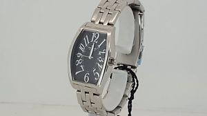 【送料無料】pryngeps orologio ab808 quarzo nero acciaio 5atm watch steel