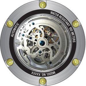 mens invicta 25131 subaqua 52mm bluegold rubber strap watch
